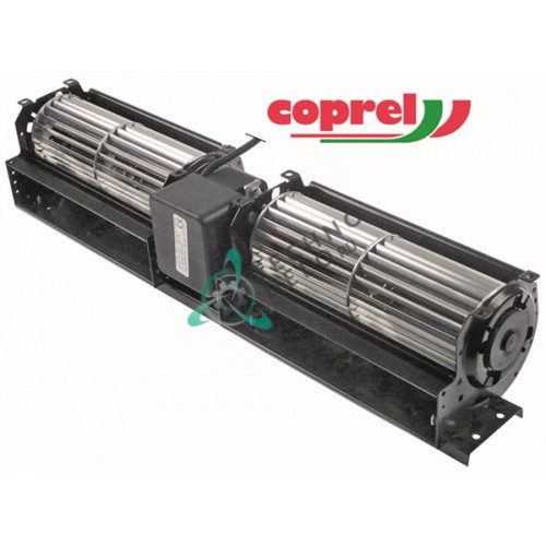 Вентилятор-электромотор Coprel FFL 43Вт 230В 50Гц ø60мм L-2x180мм B5105 3240780 холодильной витрины Angelo Po и др.
