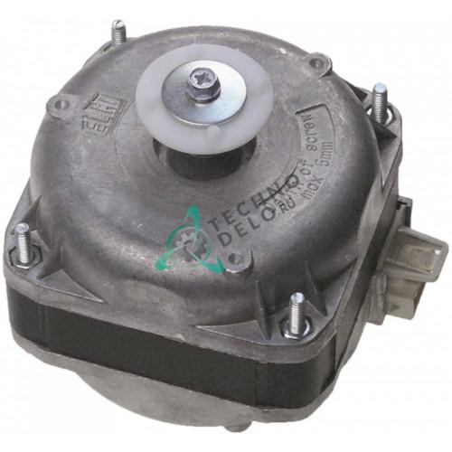 Мотор вентилятора Elco VN10-20/1124 10Вт 230В штекер Plug In 32M7020 для стола холодильного Angelo Po, SAGI и др.