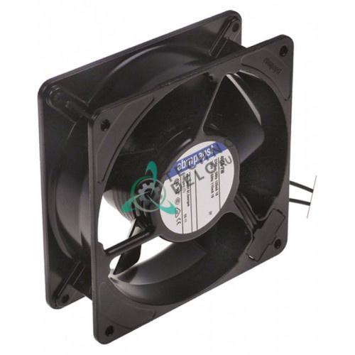 Вентилятор осевой (кулер) EBM-Papst 4656ZW 119x119x38мм 230VAC 18Вт 002690 для Electrolux, MKN, Zanussi и др.