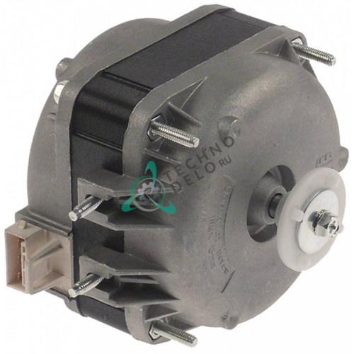 Мотор-вентилятор 085668, 085674 ELCO 230В 1300 об/мин для холодильного стола Zanussi-Electrolux и др.