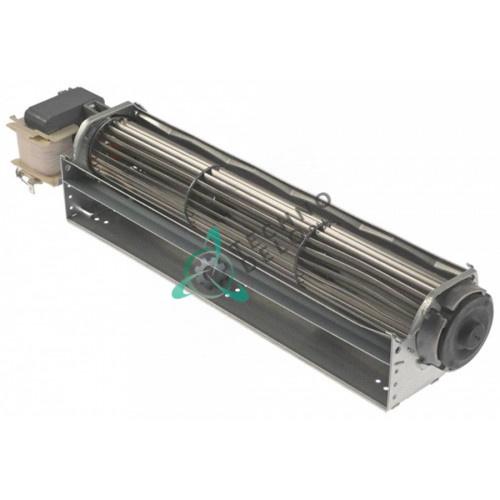 Вентилятор тангенциальный EBM-Papst QLK45/0030-2524 230В 32Вт крыльчатка D-45мм L-300мм для ELECTROLUX, ISA и др.