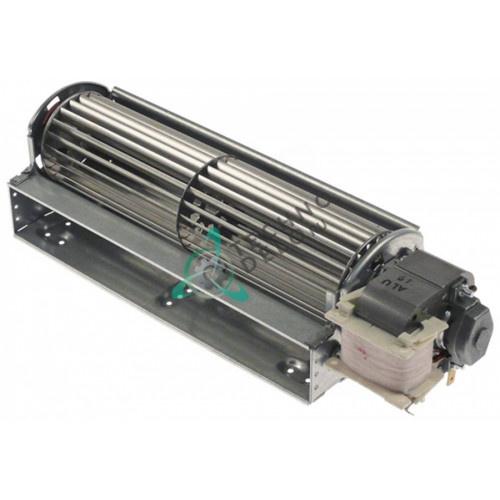 Вентилятор тангенциальный EBM-Papst QLZ06/2400-3030 230В 33Вт крыльчатка D-60мм L-240мм для холодильного оборудования и др.