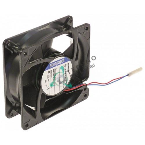 Вентилятор осевой (кулер) EBM-Papst 4114NH3R 119x119x38мм 24VDC 19,5Вт 14149088 59002132 для свч печи ACP