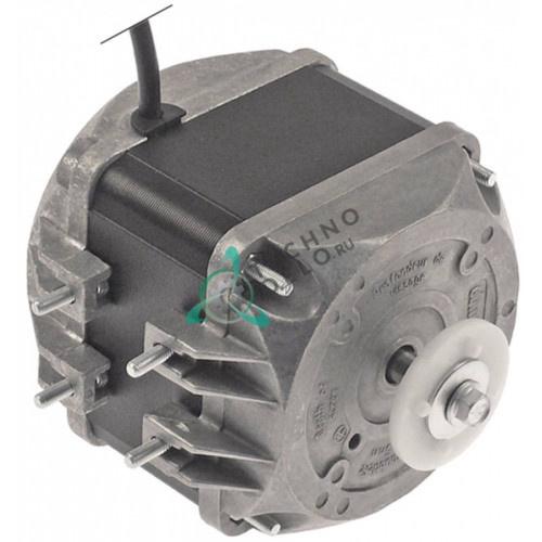 Мотор вентилятора EBM-Papst 25Вт 230В 83x83мм 1300/1550 об/мин. 483286002784 для шоковой заморозки Whirlpool и др.