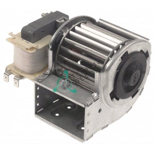 Вентилятор тангенциальный EBM-Papst QLZ06/0006-2513 230В 15Вт крыльчатка D-60мм L-60мм для холодильного оборудования и др.
