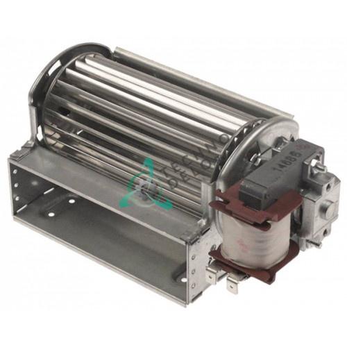 Вентилятор тангенциальный EBM-Papst QLZ06/1200-2513 230В 20Вт крыльчатка D-60мм L-120мм 0 до +60 °C