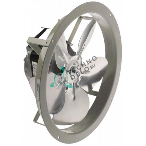 Вентилятор Elco 230В 1300/1550 об/мин крыльчатка D-200мм MOTOR080 для холодильного оборудования Williams и др.
