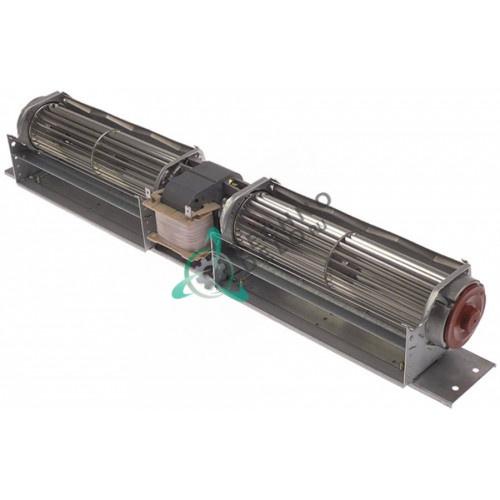 Вентилятор тангенциальный EBM-Papst QLK45/1818A4-3030LH-16 230В 36Вт D-49мм L-180мм для оборудования HoReCa