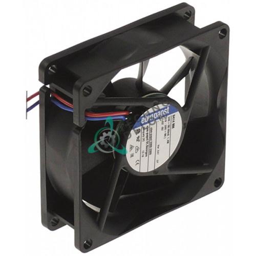 Вентилятор осевой (кулер) EBM-Papst 80x80x25мм 24VDC 1,2Вт 714239 профессиональной кофемашины Thermoplan и др.