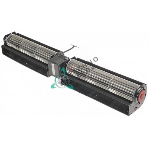 Вентилятор-электромотор Coprel TFD 230В 35Вт ø60мм L-2x300мм кабель L-1600мм универсальное применение для IARP и др.