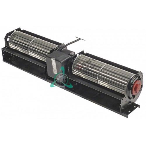 Вентилятор-электромотор Coprel TFD 230В 45Вт ø60мм L-2x180мм кабель L-1600мм для холодильного оборудования Tecfrigo