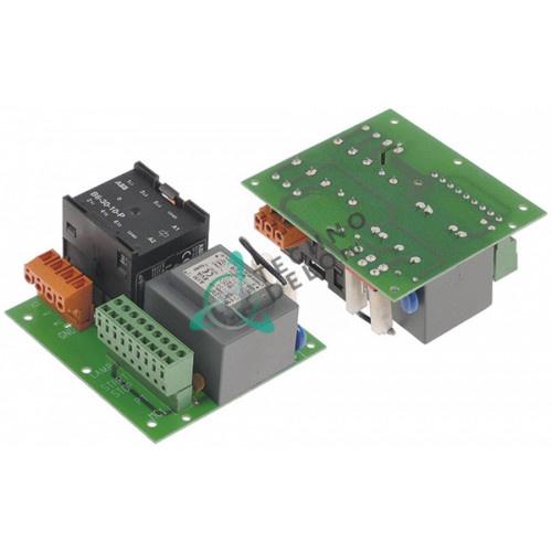 Плата электронная 102x95мм 230/400В (SA1121 SL0883 32V0740) для Electrolux, Emmepi, Fimar, SAGI и др.