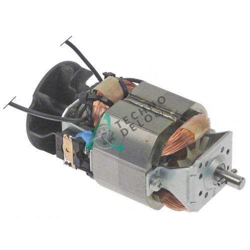 Мотор 230В 100Вт вал ø6,4мм 2847 для миксера Dynamic DMX-160/DMX-190, Horeca Select, Metro-Professional и др.
