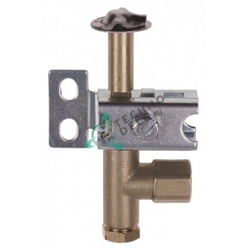 Горелка для конфорки PRO-GAS серия 100 3-х пламенная диаметр дюзы 0,2мм E02032 020152 для гриля ROLLER GRILL, ZANUSSI и др.