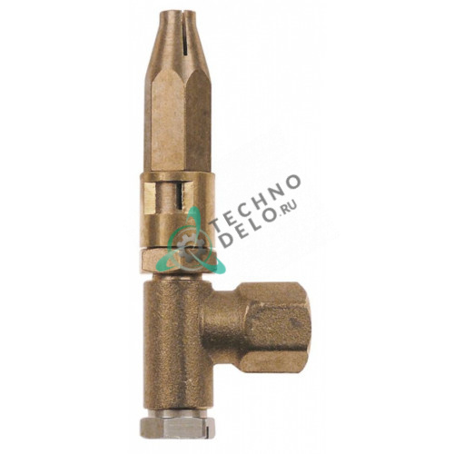 Горелка под конфорку PRO-GAS серия 100 1 пламенная диаметр дюзы 0,2мм для профессионального кухонного оборудования