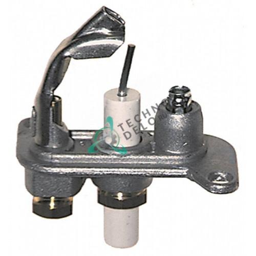 Горелка конфорочная Junkers CB505102 природный газ дюза 48 80867255 6030042200 для Kroll Energy, Copreci и др.