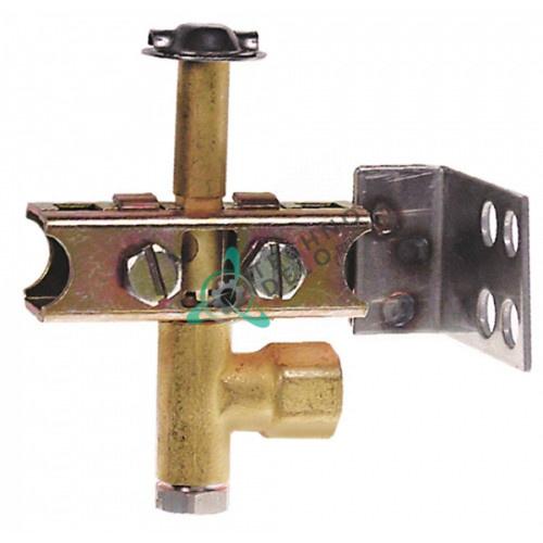 Горелка под конфорку PRO-GAS серия 100 3-х пламенная диаметр дюзы 0,25мм 12001371 R202100 для Fagor и др.