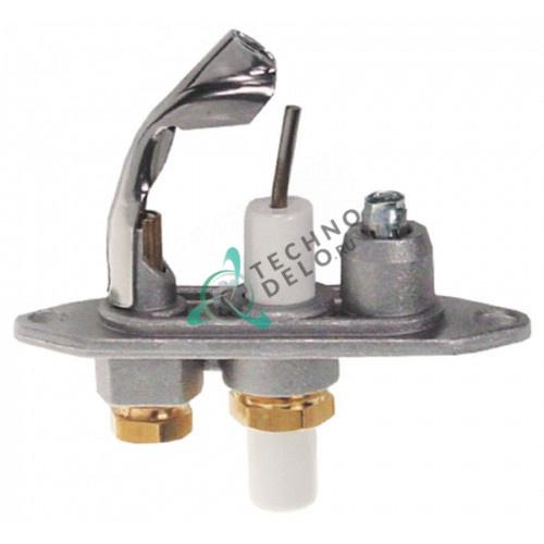 Горелка Junkers CB505139 природный газ дюза 44 подключение 4 мм для конфорки газового оборудования заведений общепита