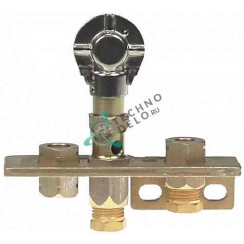Горелка SIT серия 160 3-х пламенная природный газ диаметр дюзыd-0,51мм подключение 6 мм