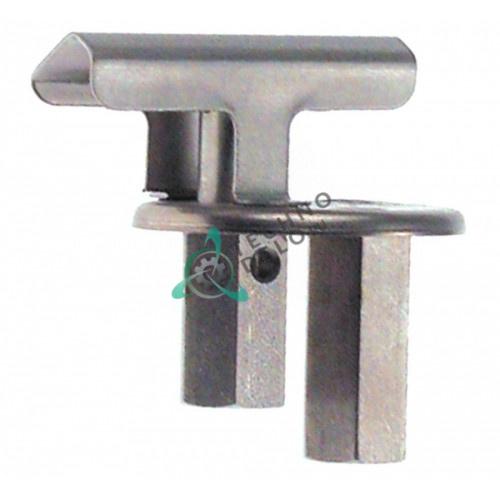 Горелка конфорочная 2-х пламенная серийный номер 646 профессиональной плиты Electrolux N700/N900