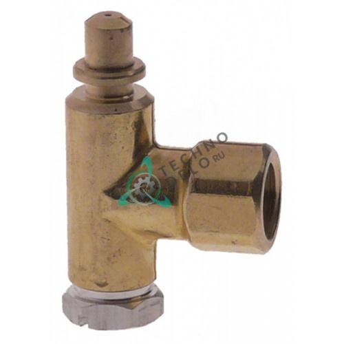 Горелка PRO-GAS (нижняя часть) серия 100 диаметр дюзы 0,35мм 33A2900 052686 для ANGELO PO, ZANUSSI и др.