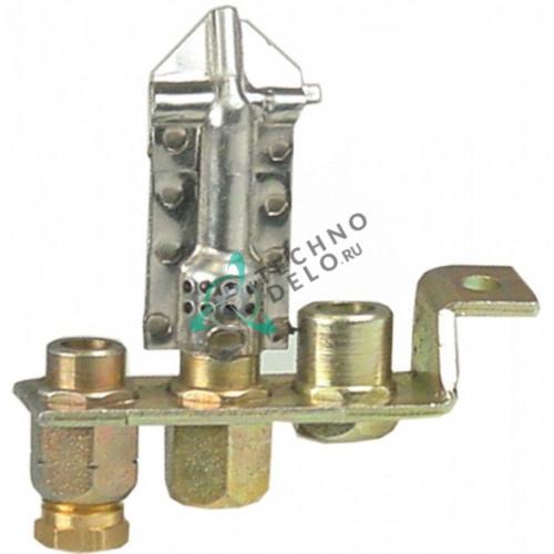 Горелка Polidoro 3-х пламенная 3524707258 для гриля и плиты Ambach GK-70/GKE-70/GKG-70/GPG-80/GPG-85/GPG-90 и др.