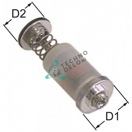 Клапан магнитный газового крана PEL22/EGA24197 ø15.4/ø13,5мм L-39мм (АРТ. 32Z1460)