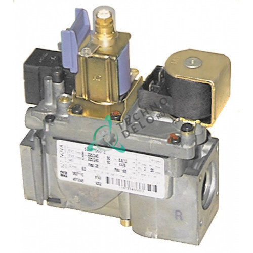 Вентиль газовый SIT Nova 827 (230В, 1/2) 3039.0204 для Rational CM101, CM201, CM62 и др.