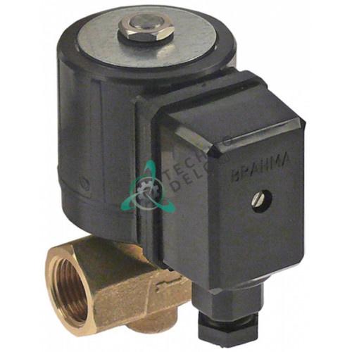 Клапан электромагнитный BRAHMA 230VAC 3/8 L56мм 13747002 CE 63AQ0626