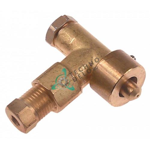 Горелка конфорочная (нижняя часть) EGA тип A природный газ отверстие d-0,35мм 0G2024 0G2036 для плиты Electrolux, Juno