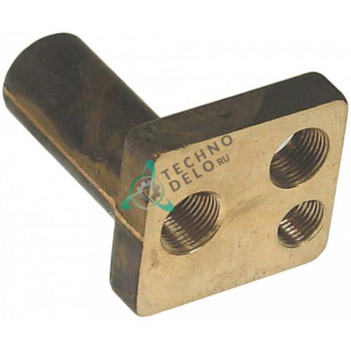 Верхняя часть горелки конфорочной с резьбовым соединением для свечи зажигания теплового оборудования Therma