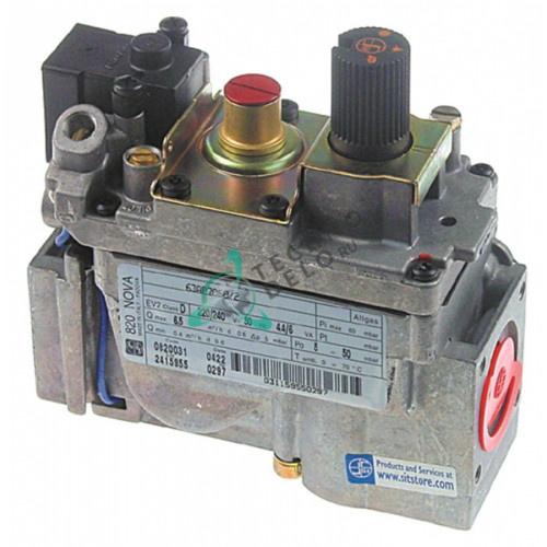 Клапан газовый SIT Nova 820 230В 1/2 32271500 002903 RCK7020070 для Bertos, Electrolux, Giorik, Tecnoinox и др.