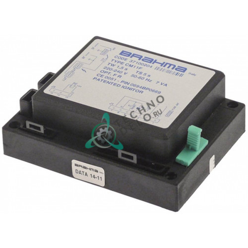 Контроллер газовый Brahma CM11F 7ВА 3103675 для печи Baron, Metos, Olis и др.
