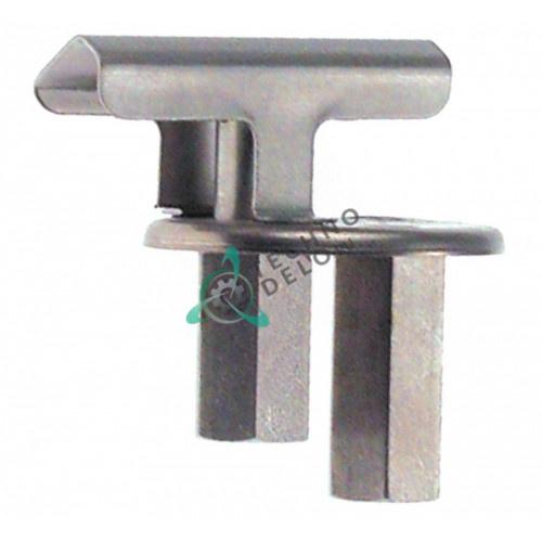 Горелка конфорочная 2-х пламенная серийный номер 646 0C0199 0C3644 для газовой плиты Electrolux N700/N900 и др.