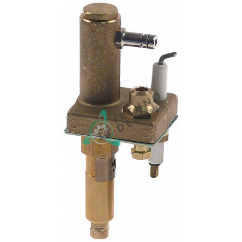 Горелка конфорочная тип E без дюзы для профессионального теплового оборудования (плиты) Ascobloc и др.