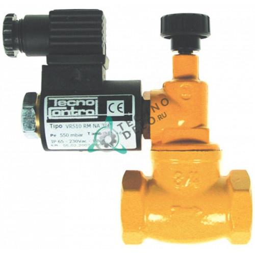 Клапан (вентиль) газовый Tecnocontrol VR5 NO 230VAC 3/4