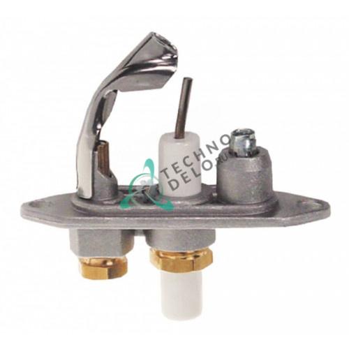 Горелка Junkers CB505120 дюза 49 подключение 4 мм для конфорки газовых плит и другого оборудования заведений общепита