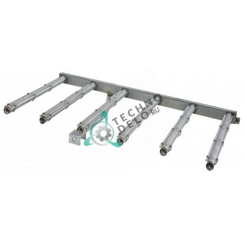 Горелка стержневая 6-ти рядная 560x940x40мм 97200500 сковороды Modular 90-120-BRG/BRGM