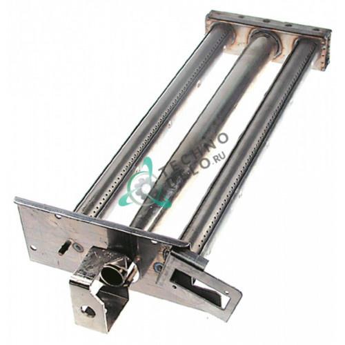 Горелка стержневая 2-х рядная 520x235x90мм 059523 для макароноварки Electrolux 7CPG07P, Zanussi и др.