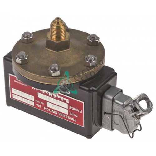 Прессостат Bailey & Mackey 208 1/4 250V 0-10 PSI 5A (technodelo)