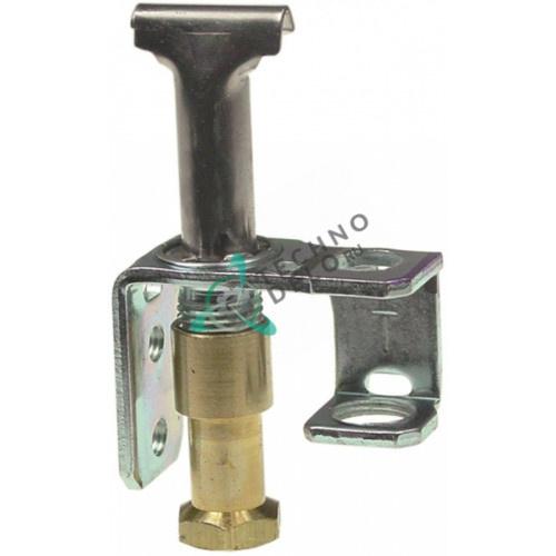 Горелка конфорочная Robertshaw 3CHL-6 код 18 2-х пламенная природный газ 1/4 CCT 537960022 RZZ97 для оборудования Falcon