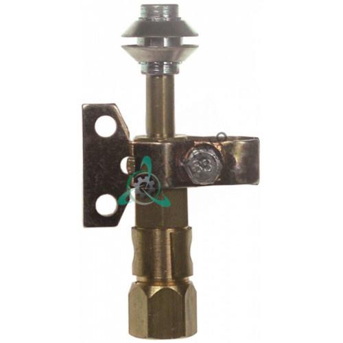 Горелка конфорки Robertshaw 9BV3 2-х пламенная природный/сжиженный газ 1/4 CCT для теплового кухонного оборудования