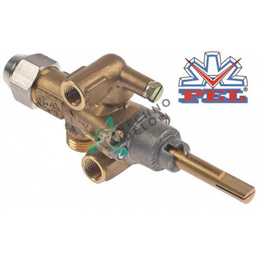 Кран газовый PEL 21S (M16x1,5 ось 8x6,5мм) 2200199 для GARLAND