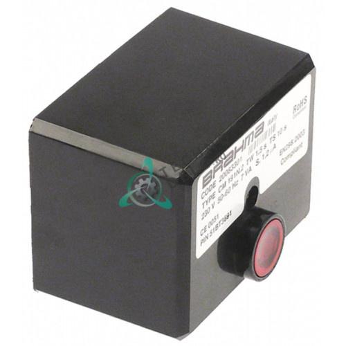 Контроллер газовый Brahma CM191.2 1,5с/10с 230В 7ВА 87101003 для печи Italforni ECO GAS