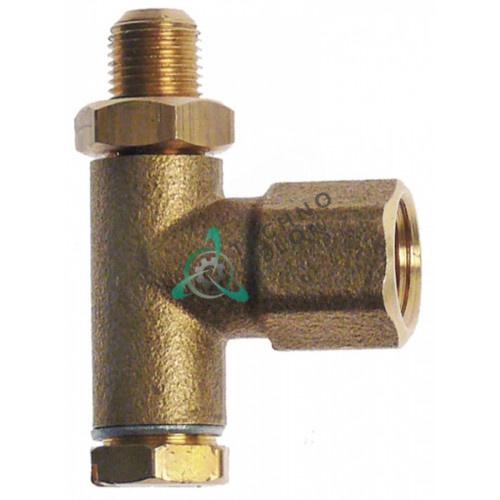 Воспламенитель горелки конфорочной (нижняя часть) M8x0,75 для оборудования CB, Nayati и др.