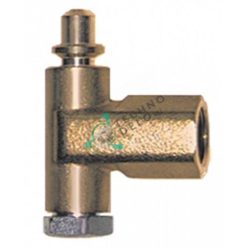 Горелка PRO-GAS (нижняя часть) серия 100 диаметр дюзы 0,2мм для теплового кухонного оборудования