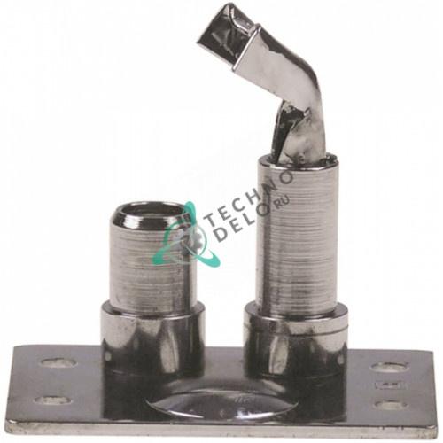 Горелка конфорочная Honeywell Q349A1124 тип 27 однопламенная G207529 для теплового оборудования Capic