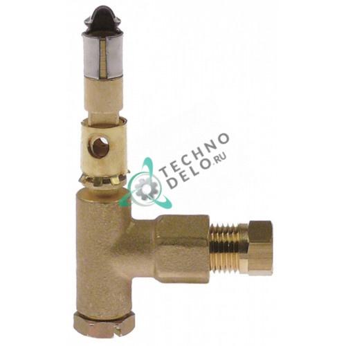 Горелка для конфорки SIT 0.190.061 1 пламенная 0,2 мм подключение 6 мм для газового теплового оборудования