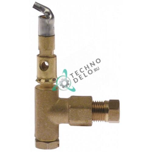 Горелка для конфорки SIT 1 дюза 0,2 мм 027239/0K9223/100047 для Baron, Electrolux, Mareno, Olis, Zanussi и др.