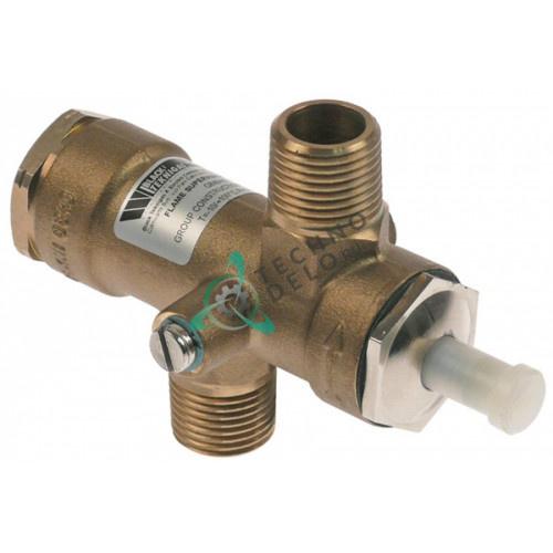 Клапан Black Teknigas G840HG 0-50мбар 1/2 (труба-ø 9/16) M9x1 RHH28 для Falcon
